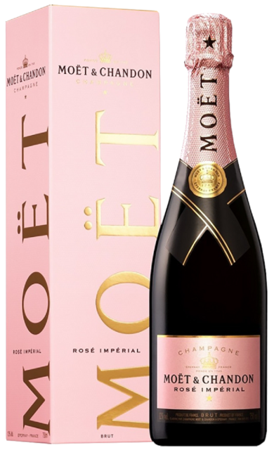 Champagne Moet & Chandon Imperial Rose Geschenkverpackung