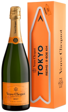 Champagne Veuve Clicquot Brut Travel Destination Magnetic Arrow