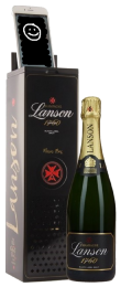 Champagne Lanson Black Label Brut Music Box