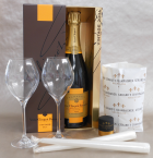 Champagner Geschenkpaket Candel Light Dinner Exclusiv
