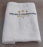 Gerards Champagner Selection Handtuch weiss